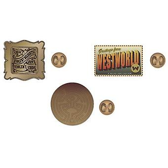 Pin Set - West World - Lapel New lp6cz6wes