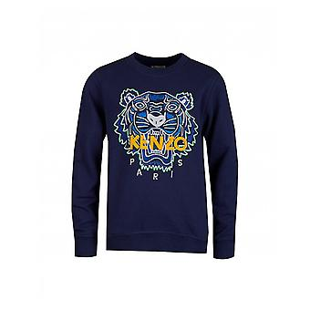 Kenzo Kids Kenzo Kids Iconic Tiger Embroidered Sweat