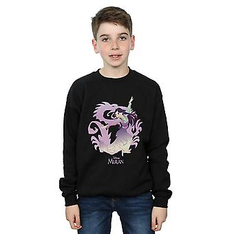 Disney Boys Mulan Dragon Fight Sweatshirt
