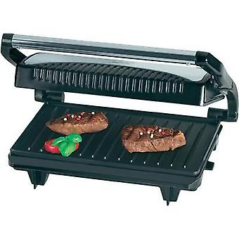 Electric Grill press Clatronic MG 3519 Black, Stainless steel