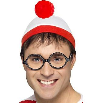 Smiffys Where'S Wally? Instant Kit With Hat And Glasses (Kostüme)