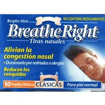 GSK Breathe Right Color Nose Strip Color Small And Medium Size 30 Units