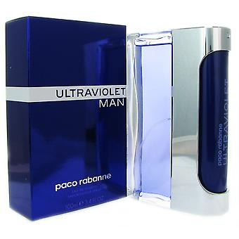 Ultraviolet Man door Paco Rabanne 3.4 oz EDT Spray