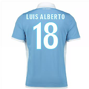 2016-17 Lazio Home Shirt (Luis Alberto 18) - Kids