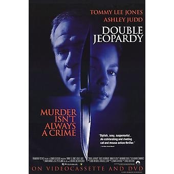 Double Jeopardy Movie Poster (11 x 17)