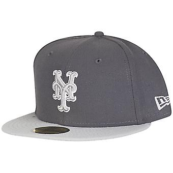 New Era 59Fifty Fitted Cap - MLB New York Mets graphite