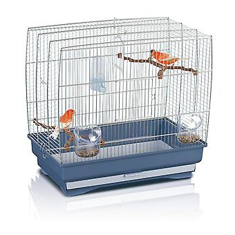 Irene 3 Small Bird Cage Chrome 51x30x48cm (20x12x19