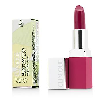 Clinique Pop Matte Lip Colour + Primer - # 05 Graffiti Pop 3.9g/0.13oz