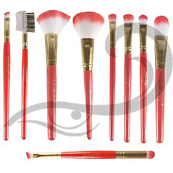 TECHNIC Professsional Contour Make-up Pinsel 9pc Set Backen