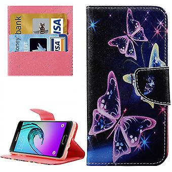 Cover wallet pattern 74 for Samsung Galaxy A3 2016 A310F