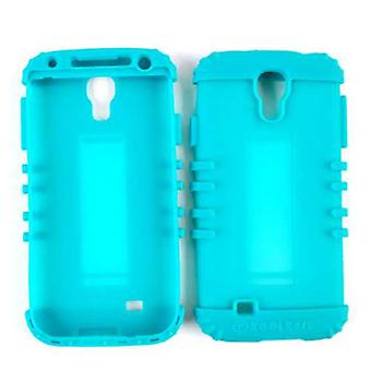 Unlimited Cellular Rocker Series Silicone Skin for Samsung GS4 (Blueish Green)
