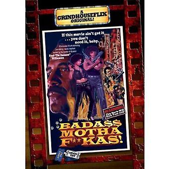 Badass Motha F--Kas [DVD] USA importerer