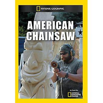 Amerikanska motorsåg [DVD] USA import