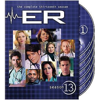 ER - ER: Sæson 13 [DVD] USA importerer