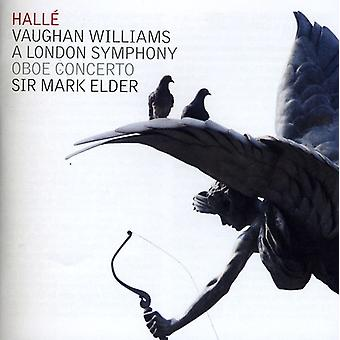 Vaughan vil - Vaughan Williams: en London Symphony; Obo Concerto [CD] USA import
