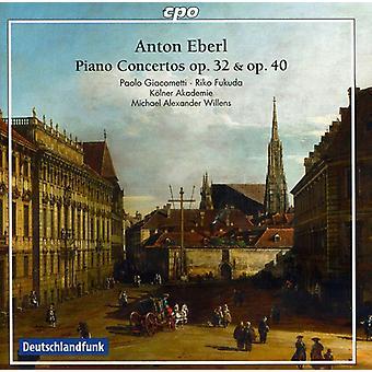 A. Eberl - Anton Eberl: Piano Concertos, Opp. 32 & 40 [CD] USA import