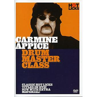 Carmine Appice - Drum Master Class [DVD] USA import