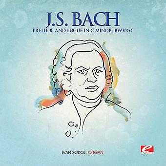 J.S. Bach - Prelude & Fugue in C Minor [CD] USA import