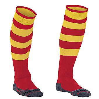 STANNO Original Hooped Socks [red/yellow] junior