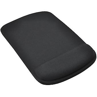 TRIXES Black Mouse Pad/Mat 'Square' with Comfort Cushion Support