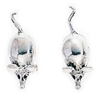 925 Silver Earring Mouse