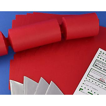 Single Jumbo Red Make & Fill Your Own Cracker Making Craft Kit
