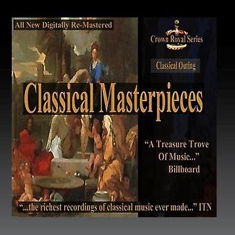 Forskellige kunstner - klassisk udflugt - klassiske mesterværker [CD] USA importerer