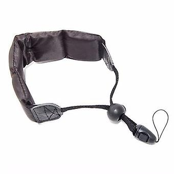 JJC Black Floating Foam Camera Strap for Kodak PLAYSPORT Zx5