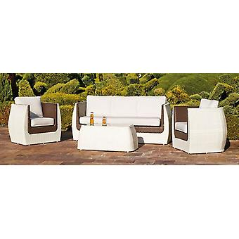 Hevea Sofa 3PZ Huitex Rexus-3 with cushions (Garden , Furniture and accessories , Bench)