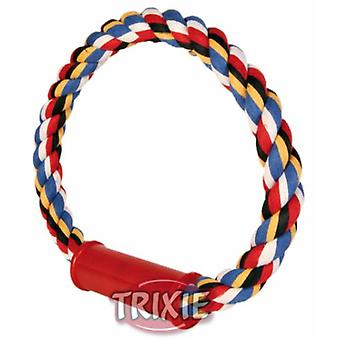 Trixie Rope Cotton Ring, Multicol (Dogs , Toys & Sport , Ropes)