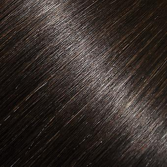 #2 - Intense Dark Brown, Brunette, Luxury, FULL HEAD, Real Clip-in Hair Extensions - 100% Remy, Triple Weft, Thick Human Hair