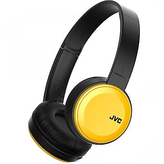 JVC Earbud S30 On-Ear Wireless Mic Yellow