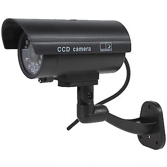 Kabalo realistische Fake Dummy CCTV Security Camera knippert rood LED Indoor Outdoor zwart