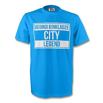 Georgi Kinkladze Man City Legend Tee (sky Blue)