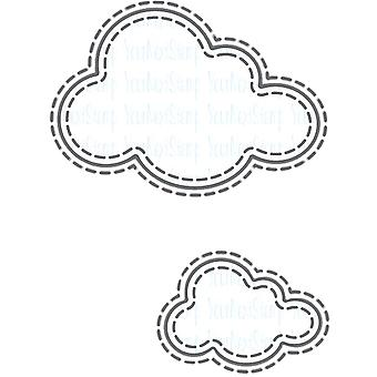 Your Next Stamp Die-Stitched Puffy Clouds YNSD515