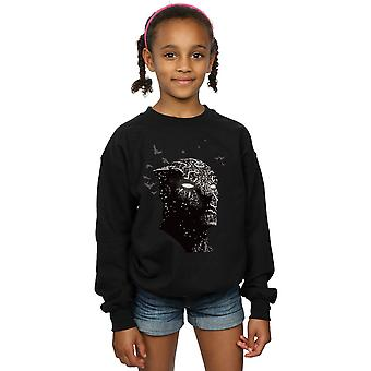 Marvel Girls Black Panther Crouching Sweatshirt