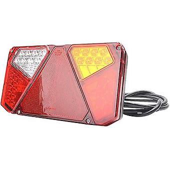 LEDs Trailer tail light Open cable ends right, rear 12 V, 24 V