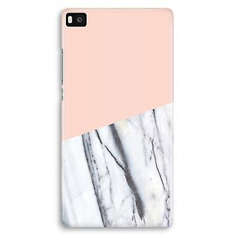 Huawei Ascend P8 Full Print Case - A touch of peach