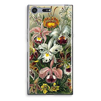 Sony Xperia XZ Premium Transparent Case (Soft) - Haeckel Orchidae