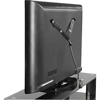 TV anti-tip Compatible with (series): Universal SpeaKa Professional Black