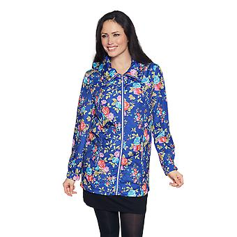 Ladies printed hooded jacket David Barry DB835