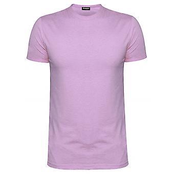 DSQUARED2 Underwear DSQUARED2 Slim Fit Pale Pink Crew Neck T-Shirt
