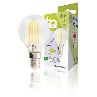 HQ LED Retro bulb E27 Mini Ball 4.8 W 470 lm 2700 K