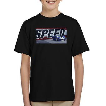 Dodge Viper Racing Stripes Kid's T-Shirt