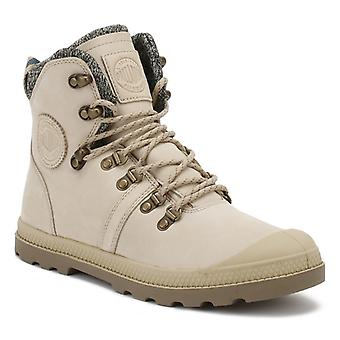 Palladium Womens Safari Beige Pallabrouse HIKR LP Boots