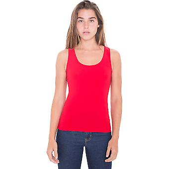 American Apparel Womens/Ladies Cotton Spandex Lightweight Tank Top