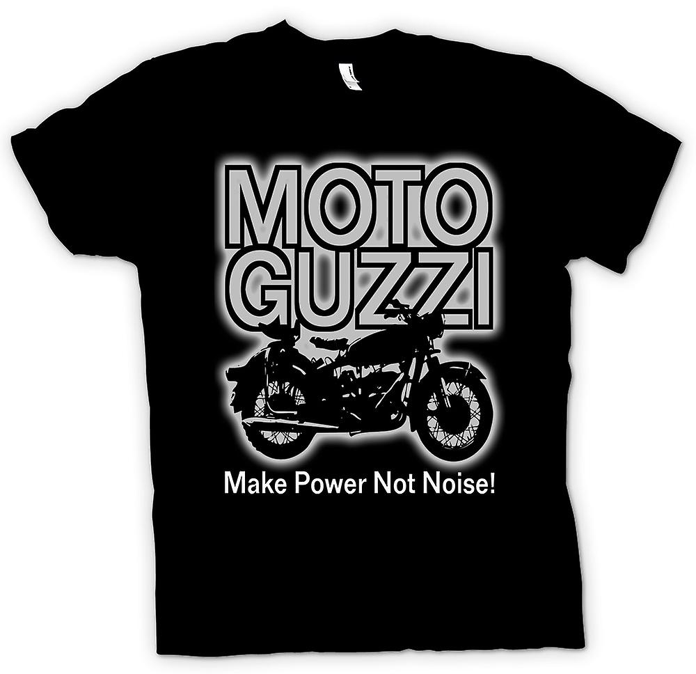 Kids T-shirt - Moto Guzzi Make Power Not Noise