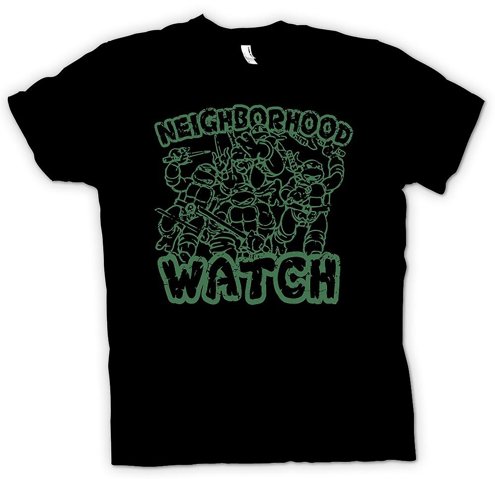 Femmes T-shirt - Teenage Mutant Ninja Turtles - Neighborhood Watch