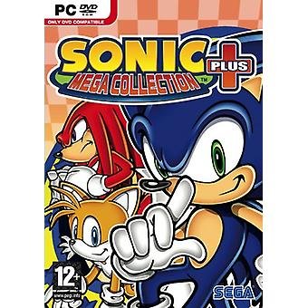 Sonic plus Mega Collection (PC DVD)-fabriks forseglet