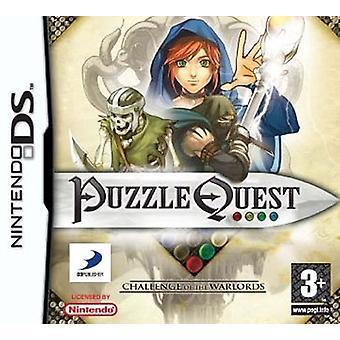 Puzzle Quest Challenge av krigsherrarna (Nintendo DS)